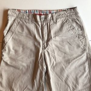 Lucky Brand twill shorts